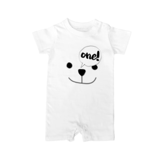 Waon! One! Baby rompers