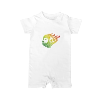 One Love Reggae(グラデ) Baby rompers