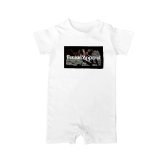 Paper Chaser Baby rompers