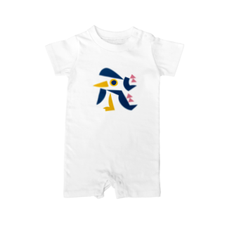 Kiryumiの飛ぶ鳥 Baby rompers