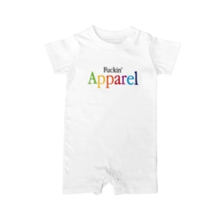 Fuckin' Apple Apparel Baby rompers