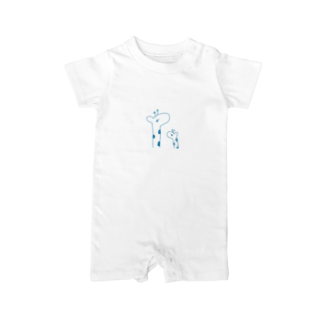 kirin.boutiqueのキリンさん親子 Baby rompers
