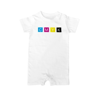 CMYK Baby rompers