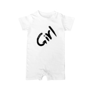 Girl おんなのこ Baby rompers