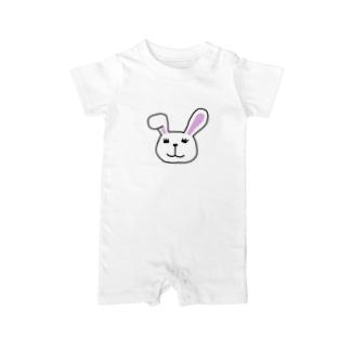 Rabbit Baby rompers