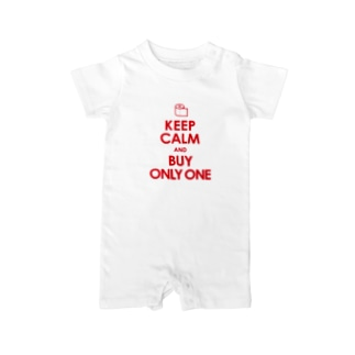 KEEP CALM and BUY ONLY ONE Baby rompers