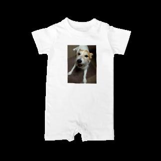 リョウガ!!☠️の癒し犬 Baby rompers