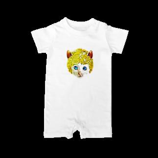 Rock catのチビCAT BOY Baby rompers