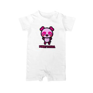 PINKY PANDA Baby rompers