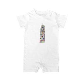 Torre di Pisa Baby rompers