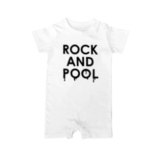 ROCK AND POOL Baby rompers