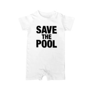 SAVE THE POOL Baby rompers