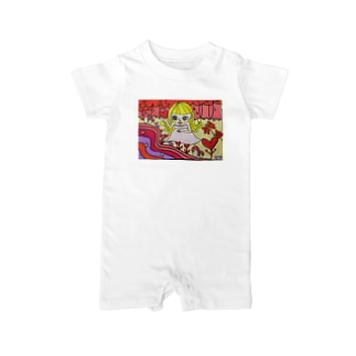loveの森 Baby rompers
