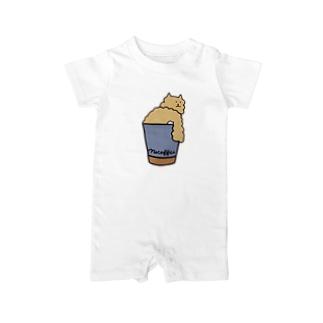ネコーヒー Baby rompers