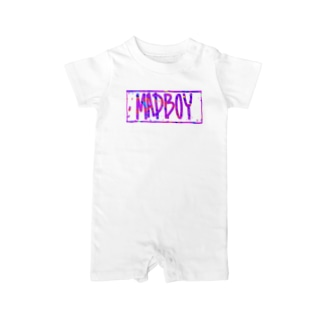 Mad Boy Baby rompers