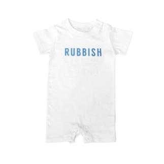 ラビブレ01 Baby rompers