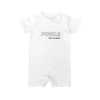 PUZZLE Baby rompers