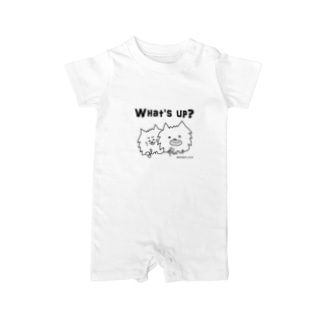 @ginkuro_mam【What's up?】 Baby rompers
