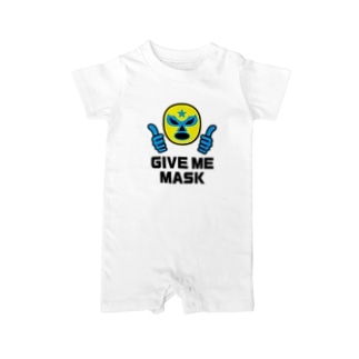 GIVE ME MASK (YELLOW MASK) Baby rompers
