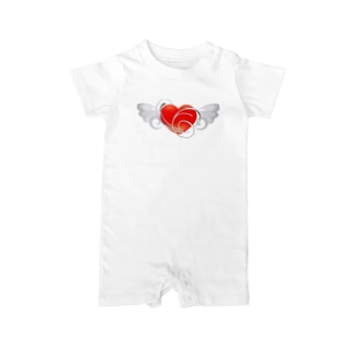Angel_Heart Baby rompers