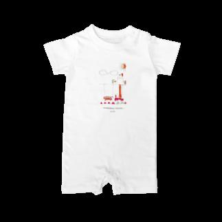 pengin-shopの- kousokudouro koujichu - Baby rompers