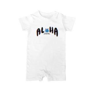 ALOHAミント Baby rompers