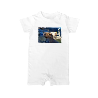 TK-marketのカピパラ Tシャツ Baby rompers