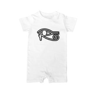 Eye_of_Horus Baby rompers