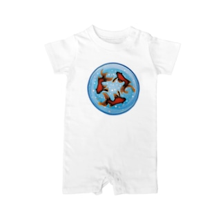 FISHBOWL Baby rompers