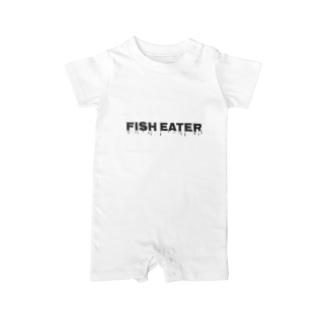 風間水産 フィッシュイーター Baby rompers