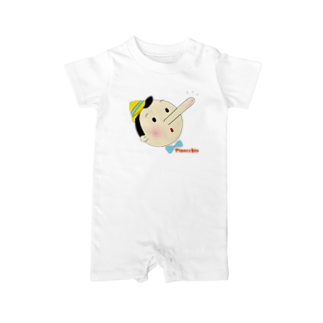 Sorapolice_pinopoliceのピノキオ Baby rompers