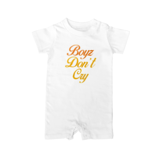 MINAMI SHOPのBoyz Don't Cry Baby rompers