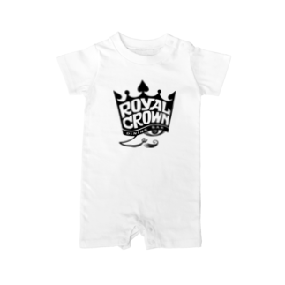 Shingo TashimaのROYAL CROWN 『KING』 Baby rompers