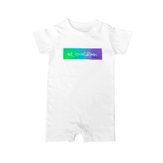 #LoveGReen 01 Baby Rompers