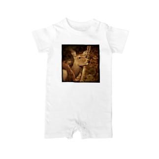 鹿 Baby rompers