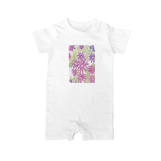 紫花火 Baby rompers