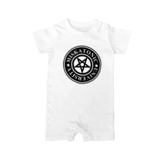 MISKATONIC UNIVERSITY Baby rompers
