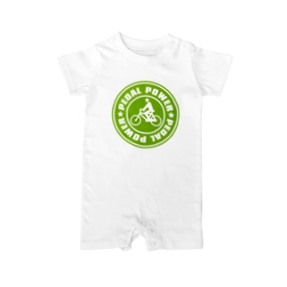 PEDAL_POWER Baby rompers