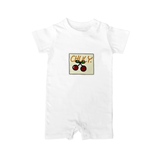 Cherry×chuly Baby rompers