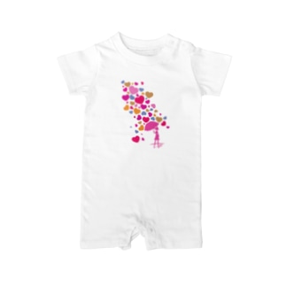 Falling_in_Love Baby rompers