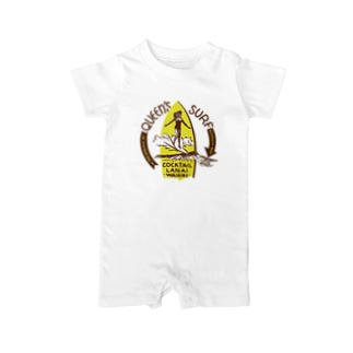 QUEEN'S SURF Baby rompers