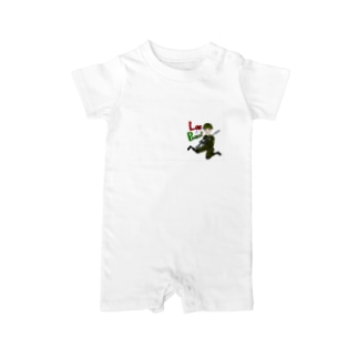 Love&Peace! Baby rompers