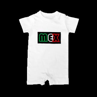 """""""SuperGuapo""""MEX オフィシャルショップの""""SuperGuapo""""MEX Baby rompers"""