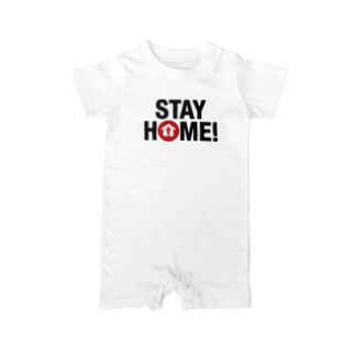 TK-marketのSTAY HOME(3) Tシャツ Baby rompers