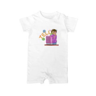 Slow TypingのTELL テル 135 Baby rompers