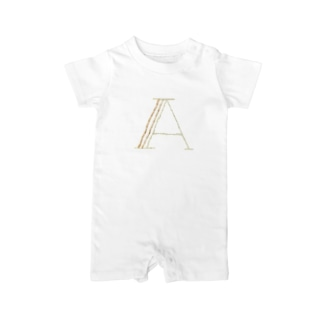 embroideryprint_A Baby rompers