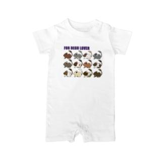 シンプルデグー01 Baby rompers