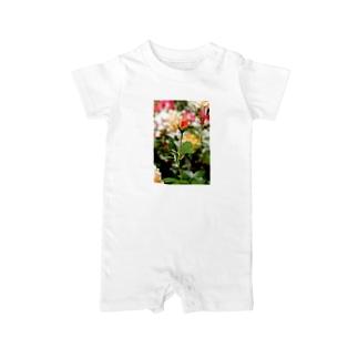 FLOWERS-蕾- Baby rompers