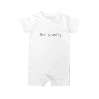 Bed gravity Baby rompers