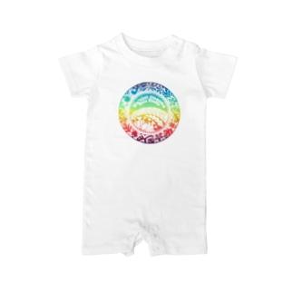 クウレイオナオナフラスタジオ ロゴ 2020summer ver. Baby rompers